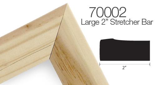 Solid Wood Canvas Stretcher Bar Frame
